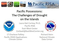 The Challenges of Drought on the Pacific Islands