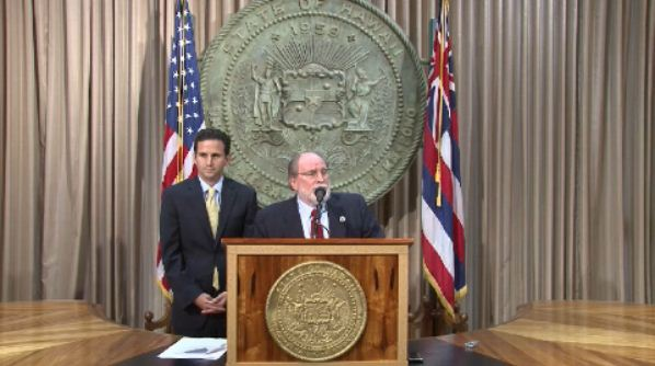 Gov. Abercrombie announces Schatz as next US Senator